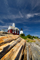 Pemaquid Point Lighthouse - Pemaquid Light - Maine