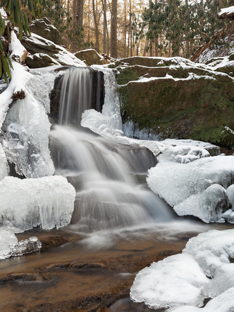 Winter Wonder - Waterfall - Holtwood Falls - Lock 12