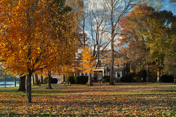 Autumn at Fort Hunter Mansion