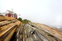 Pemaquid Mist - Pemaquid Point Light - Maine