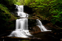 Tuscarora Falls - Ricketts Glen State Park